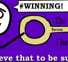 The Key To Success - Hastily Made Sticker