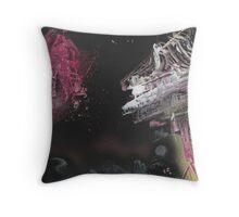 Kosmic Jam Throw Pillow