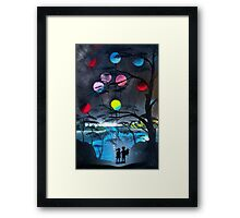 Young Lovers ... Hopes & Dreams Framed Print