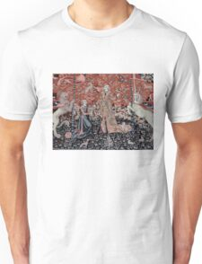 Lady & the Unicorn Tapestry Unisex T-Shirt