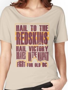 Redskins - Fight Song Women's Relaxed Fit T-Shirt