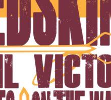 Redskins - Fight Song Sticker