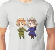 Hetalia Chibi FrUk Unisex T-Shirt