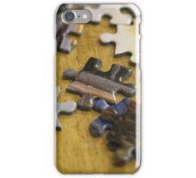 Coffee Shop Puzzle Pieces iPhone Case/Skin