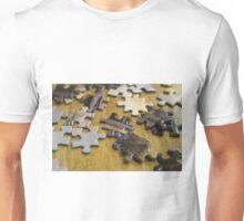 Coffee Shop Puzzle Pieces Unisex T-Shirt