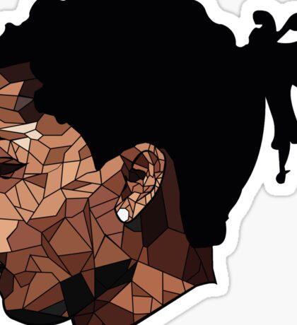 Asap Rocky Art Sticker