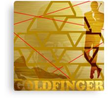 Goldfinger Canvas Print