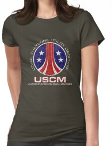 Aliens Cheyenne dropship crest Womens Fitted T-Shirt