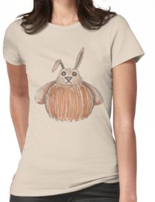 The Disgruntled Rabbit Womens Fitted T-Shirt