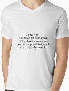 James 4:6 Mens V-Neck T-Shirt
