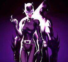 Batman & Catwoman by Mellark90