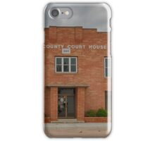 Gove County Courthouse iPhone Case/Skin