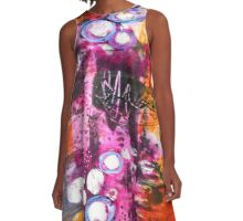 Hot Spots Abstract A-Line Dress