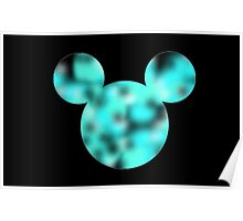 Lava Lamp Mickey Poster