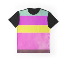 Abstraction #108 Multicolor Blocks Graphic T-Shirt