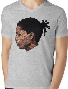 Asap Rocky Art Mens V-Neck T-Shirt