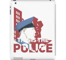 This is the Police iPad Case/Skin