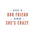 """Stranger Things: """"Crazy Friend"""" by dictionaried"""