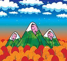 Sleeping giants by Mike Adey