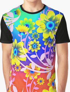 FLOWER POWER-334 Graphic T-Shirt