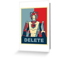 Cybermen Hope Greeting Card