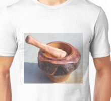 Gimlet Mortar and Pestle Hardwood Unisex T-Shirt