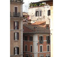 Buildings of Rome Photographic Print