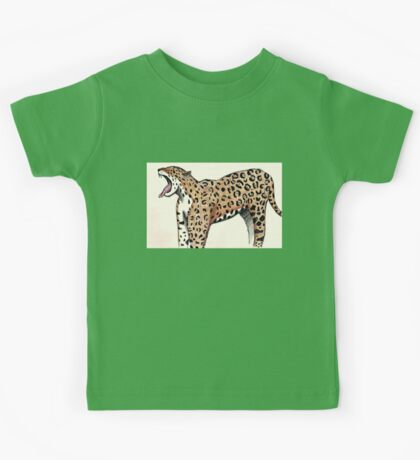 Jaguar Sketch Kids Tee