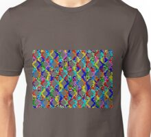 Chain Linked Stained Glass      Unisex T-Shirt