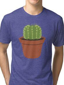 Li'l Guy Cacti Tri-blend T-Shirt