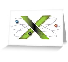 The X's Lab Greeting Card