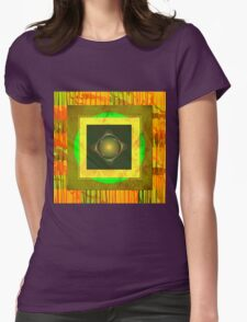 Bullseye Womens Fitted T-Shirt