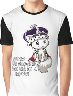Meowriarty Graphic T-Shirt