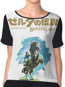 The Legend of Zelda: Breath of the Wild Chiffon Top