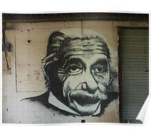 Albert on the wall Poster