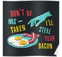 Bacon Thief Poster