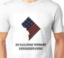 DC Statehood - Taxation Without Representation Unisex T-Shirt
