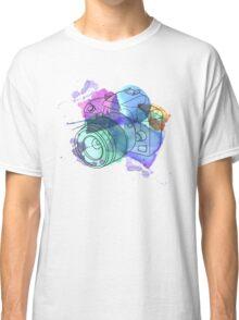 Watercolor Camera Classic T-Shirt
