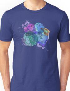 Watercolor Camera Unisex T-Shirt