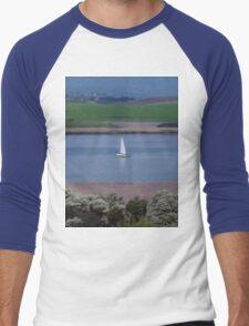 **Yacht in Tasmania** Men's Baseball ¾ T-Shirt