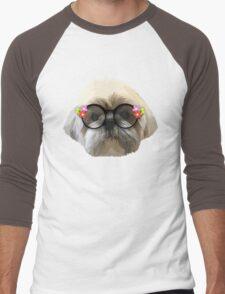 Shih tzu dog 2 Men's Baseball ¾ T-Shirt