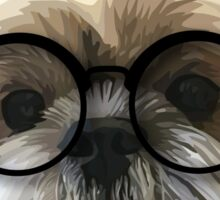 Shih tzu dog 2 Sticker