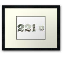 221 B Framed Print
