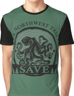 Save the Pacific Northwest Tree Octopus Graphic T-Shirt
