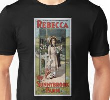 Performing Arts Posters Klaw Erlangers production Rebecca of Sunnybrook Farm by Kate Douglas Wiggin and Charlotte Thompson 1920 Unisex T-Shirt