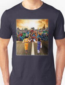 Saiyans vs Marvel Heroes  Unisex T-Shirt