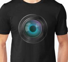 Lens with an eye Unisex T-Shirt