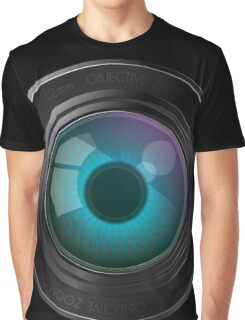 Lens with an eye Graphic T-Shirt