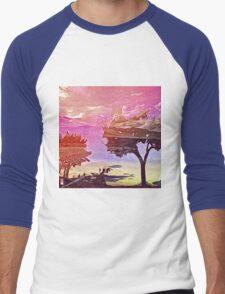 Land of dreams 013 Men's Baseball ¾ T-Shirt