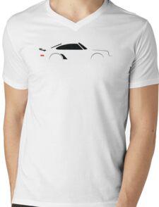 1974 Turbo Sports Car Mens V-Neck T-Shirt